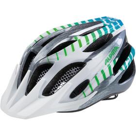 Alpina FB 2.0 Flash Lapset Pyöräilykypärä , vihreä/valkoinen